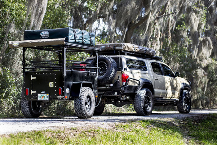 Freespirit Overlander Adventure Trailer from Northwest Auto Accessories