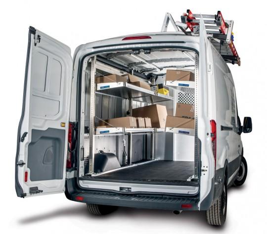 aluminum van shelving northwest truck accessories. Black Bedroom Furniture Sets. Home Design Ideas