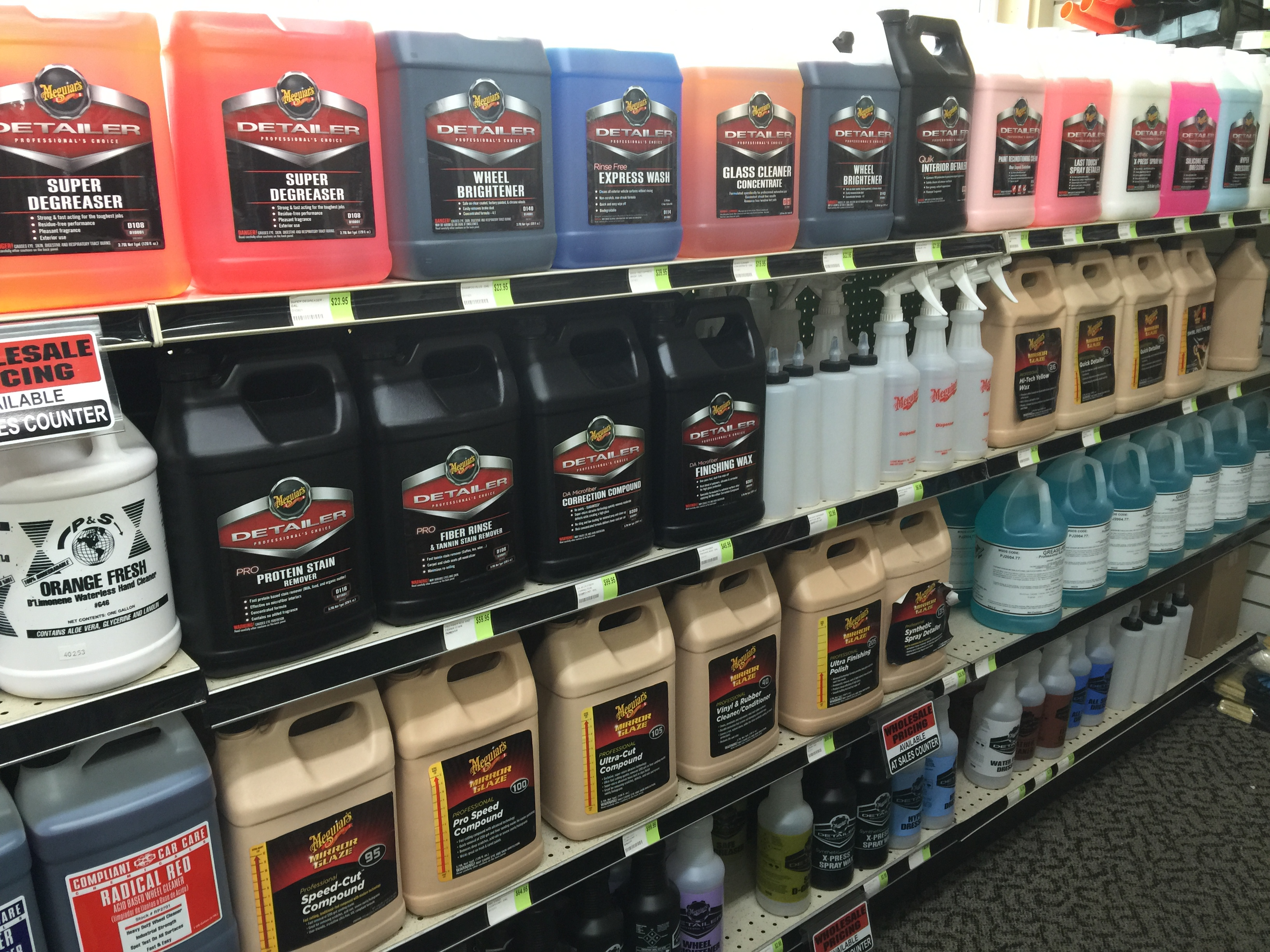 Professional Car Detailing Supplies >> Detailing Supplies Northwest Truck Accessories Portland Or