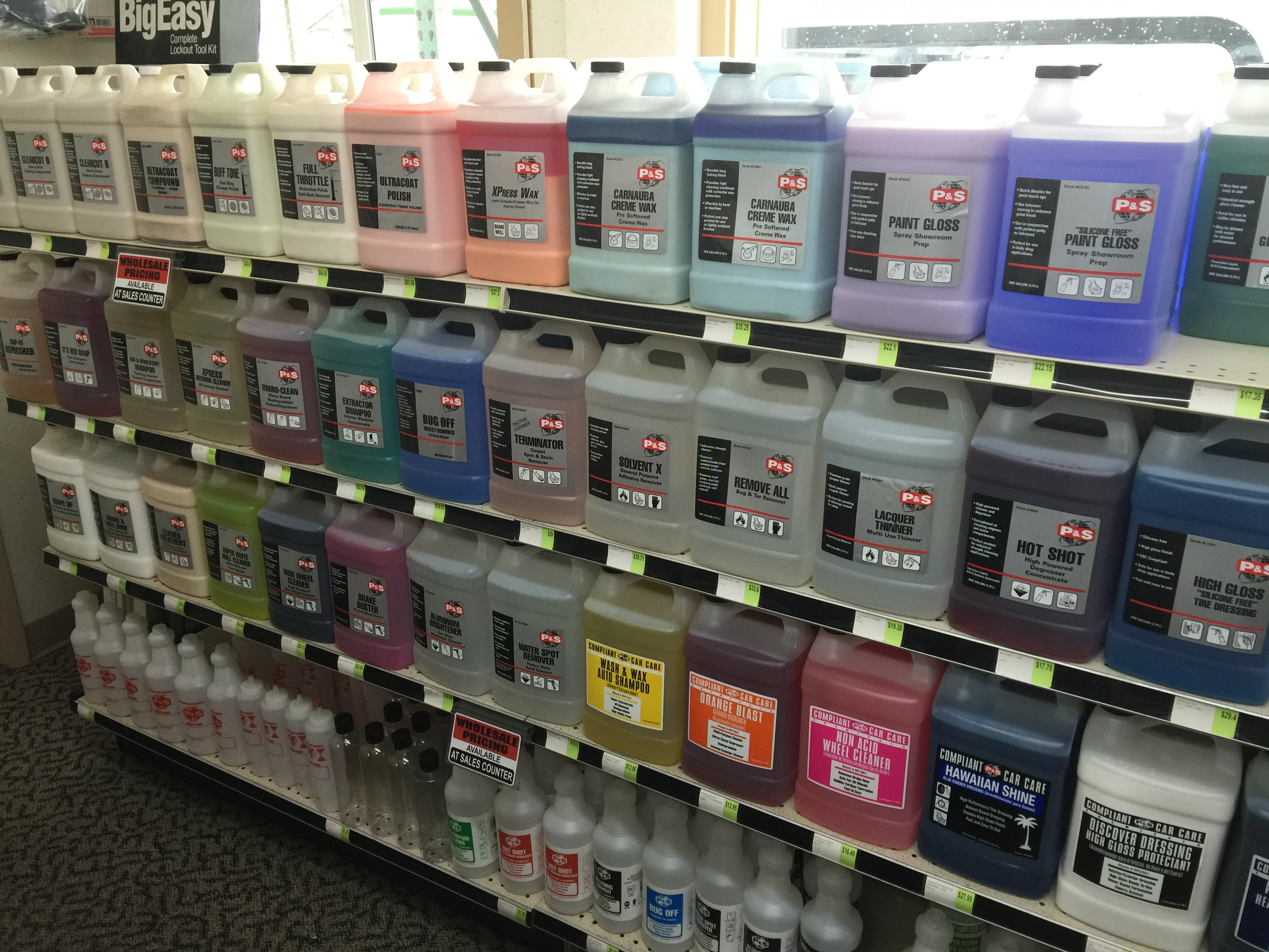 Car Detailing Supplies >> Detailing Supplies Northwest Truck Accessories Portland Or