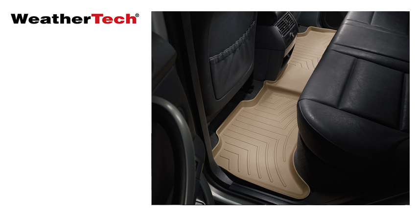 WeatherTech® Rear FloorLiner™ DigitalFit® from Northwest Auto Accessories